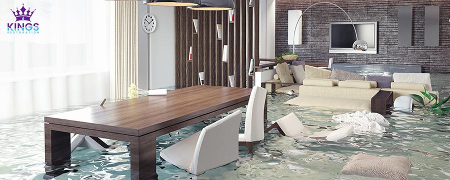 flood damage in Dallas